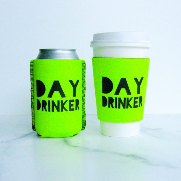 Day drinker cup sleeve