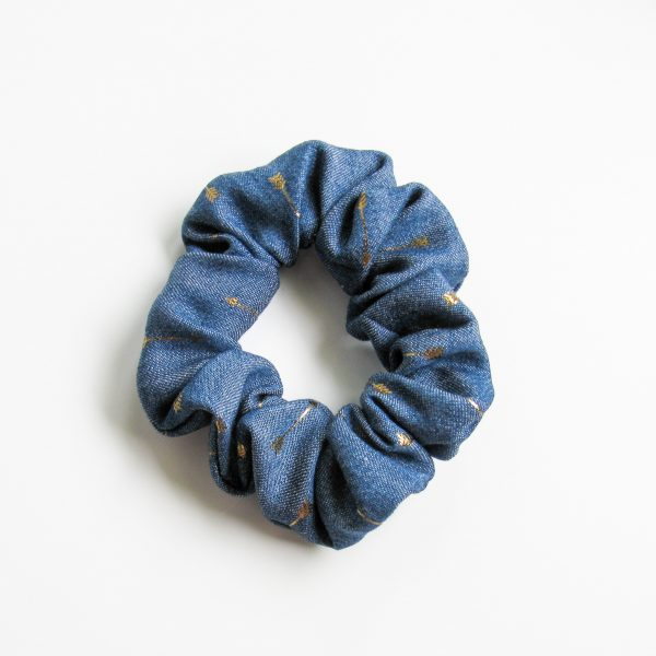 Golden Arrow Scrunchie