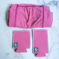Upcycled Pink Drinkwear