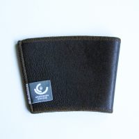 Brown Leather Cup Sleeve