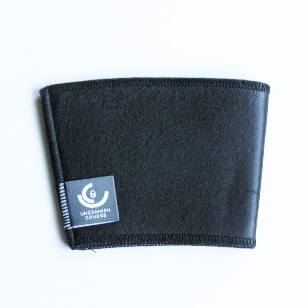 Black Leather Cup Sleeve