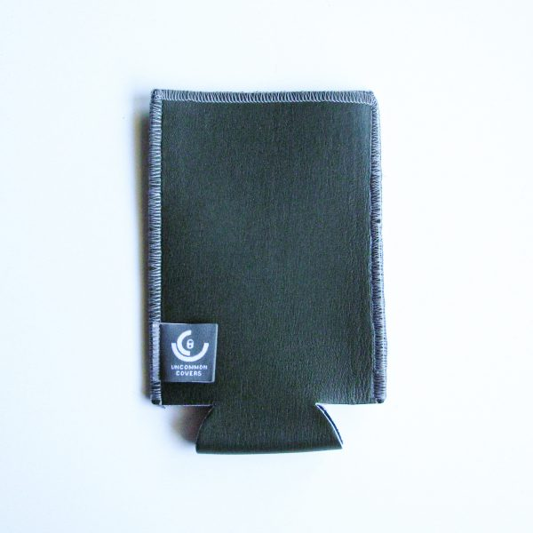 Olive Green Leather Tall Boy