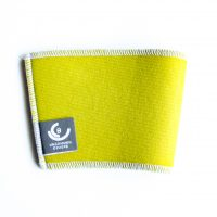 Mustard Yellow cup sleeve