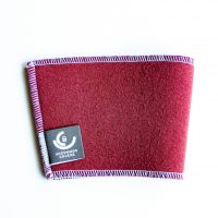 Crimson cup sleeve