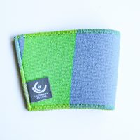 Green & blue cup sleeve