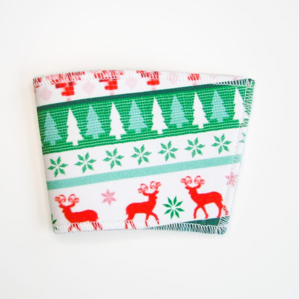 Holiday sweater cup sleeve